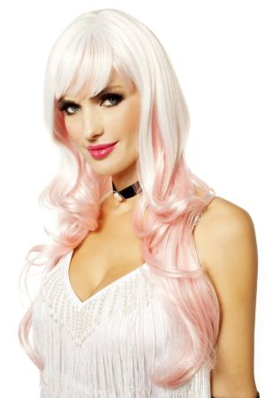 Icy Pink/White Dream Girl Wig