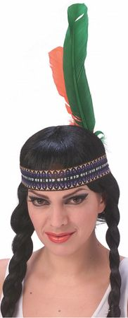 Indian Feathered Headband