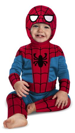 Infant Deluxe Spider-man Costume