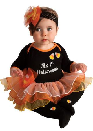 Infant My First Halloween Candy Corn Costume