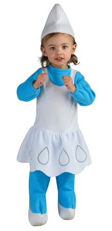 Infant Smurfette Costume