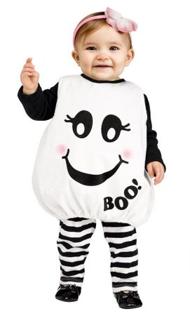 Infant/Toddler Baby Boo Costume