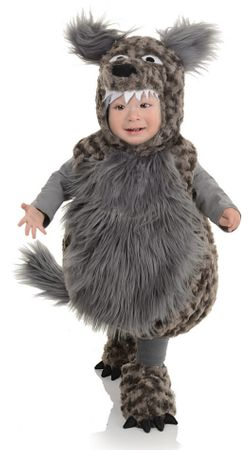 Infant/Toddler Belly Babies Wolf Costume
