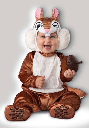 Infant/Toddler Cheeky Chipmunk Costume