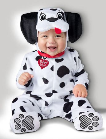 Infant/Toddler Dalmatian Dog Costume