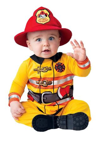 Infant/Toddler Fearless Firefighter Costume