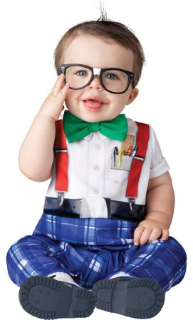 Infant/Toddler Nursery Nerd Costume