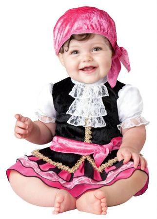 Infant/Toddler Pretty Little Pirate