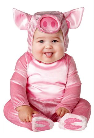 Infant/Toddler This Lil' Piggy Costume