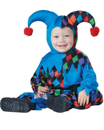 Infant Li'l Jester Costume