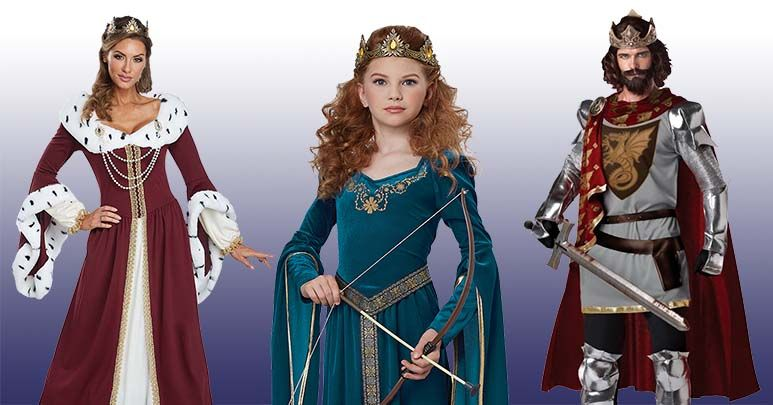 f24f9f09b6c Royalty Costumes - King and Queen Costumes