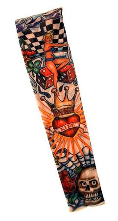 King of Hearts Tattoo Sleeve