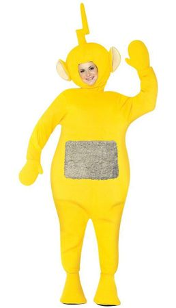 LaaLaa Adult Yellow Teletubbies Costume