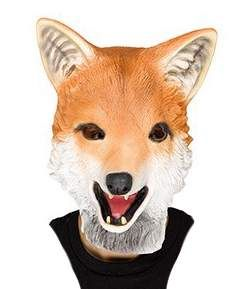 Latex Fox Mask