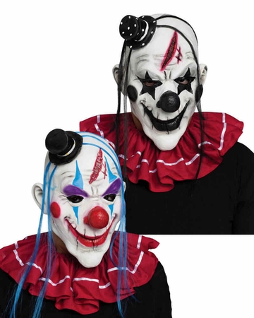 Latex Killer Clown Mask