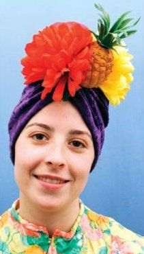 Latin Lady Fruit Hat