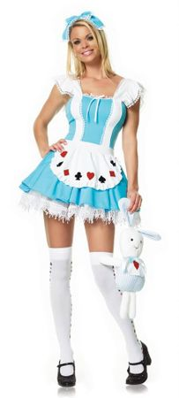 Leg Avenue Adult Alice in Wonder Place Costume, Size Large