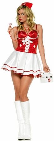 Leg Avenue Adult Nurse Check-Up Costume