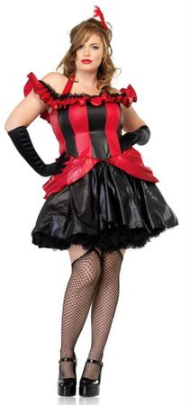 Leg Avenue French Can Can Dancer Costume Plus Size
