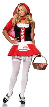 Leg Avenue Lil' Miss Red Sexy Adult Costume
