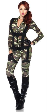 Leg Avenue Pretty Paratrooper Sexy Soldier Costume
