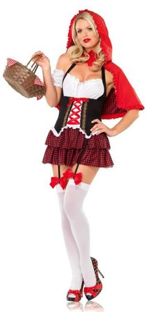 Leg Avenue Ravishing Red Riding Hood Adult Costume