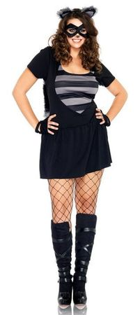 Leg Avenue Risky Raccoon Sexy Plus Size Costume