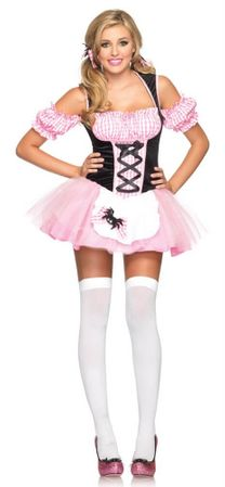 Leg Avenue Sexy Gingham Miss Muffet Costume