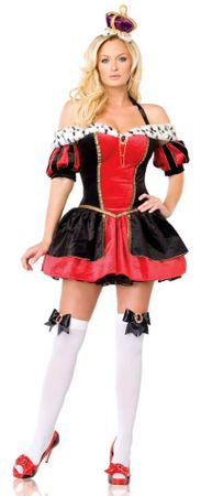 Leg Avenue Sexy Royal Queen Adult Costume