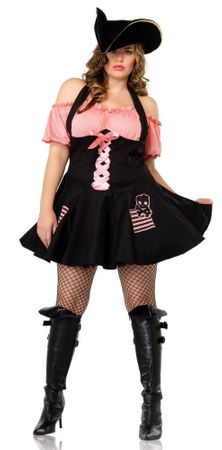 Leg Avenue Sexy Treasure Hunt Pirate Costume Plus Size