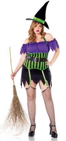 Leg Avenue Spellbound Witch Costume Plus Size