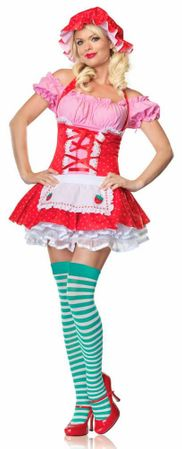 Leg Avenue Strawberry Country Girl Adult Costume