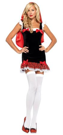 Leg Avenue Sweetheart Red Riding Hood Adult Costume