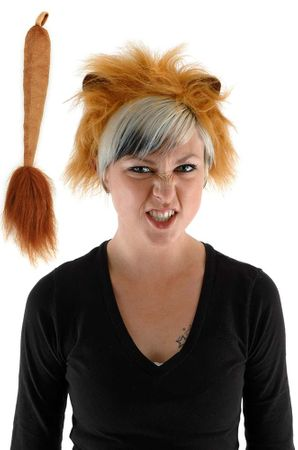 Lion Ears and Tail Costume Set