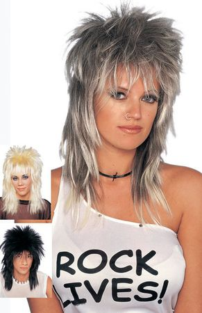 Long Unisex Rocker Wig - More Colors