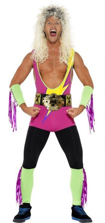 Men's 80's Retro Wrestler