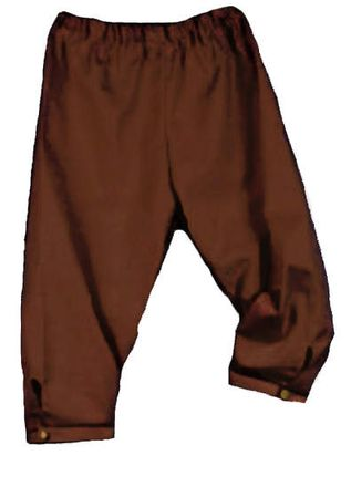 Men's Colonial Breeches - Black, Brown and Tan
