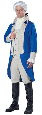 Men's George Washington Costume