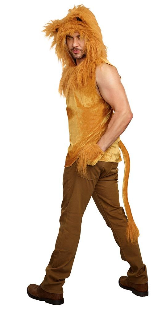 11449e042 Men's King of the Jungle Lion Costume - Candy Apple Costumes ...