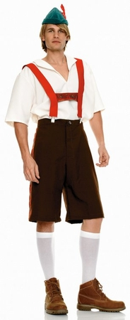 Men's Lederhosen German Costume