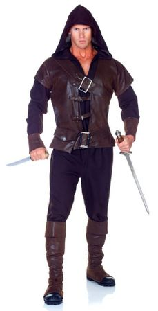 Men's Medieval Assassin Costume