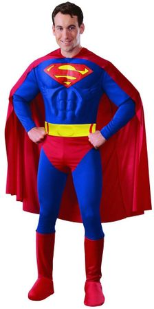 Men's Muscle Chest Superman Costume, Size Large