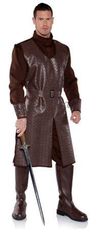 Men's Plus Size Medieval Crusader Costume