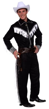 Men's Rodeo Cowboy Star Costume, Size M/L