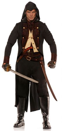 Men's XXL Colonial Mercenary Costume