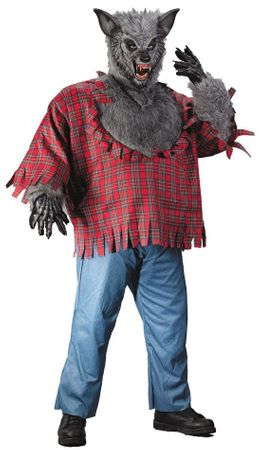 Men's Plus Size Werewolf Costume