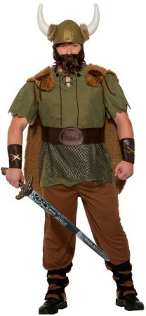 Men's Plus Viking Chieftain Costume