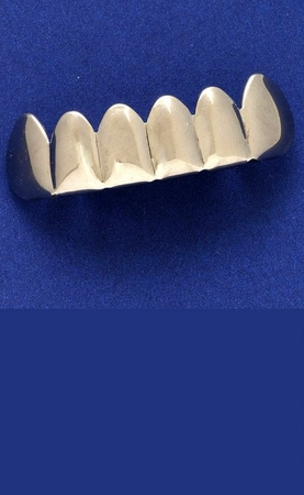 Metal Silver Teeth