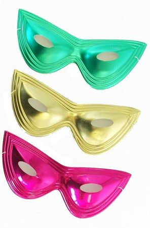 Metallic Cat Eye Mask
