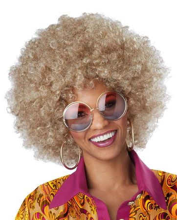 Mixed Blonde Foxy Lady Wig